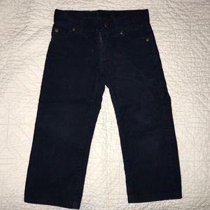 2T boys Janie and Jack corduroy pants